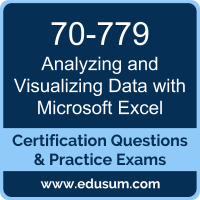70-779: Analyzing and Visualizing Data with Microsoft Excel (MCSA BI Reporting)