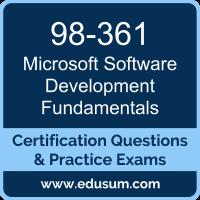 98-361: Software Development Fundamentals (MTA Visual Studio)