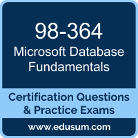 98-364: Microsoft Database Fundamentals