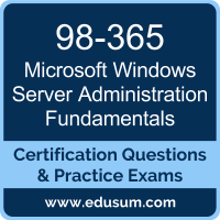 98-365: Windows Server Administration Fundamentals (MTA Windows Server)