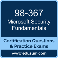 98-367: Microsoft Security Fundamentals