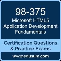 98-375: Microsoft HTML5 Application Development Fundamentals