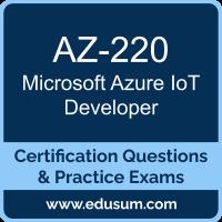 AZ-220: Microsoft Azure IoT Developer