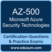 AZ-500: Microsoft Azure Security Technologies (MCA Engineer)