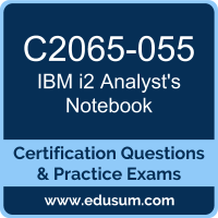 C2065-055: IBM i2 Analyst's Notebook V9