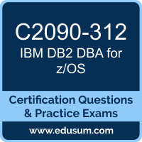 C2090-312: IBM DB2 11 DBA for z/OS