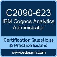 C2090-623: IBM Cognos Analytics Administrator V11 (Cognos Analytics Administrato