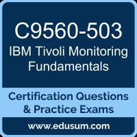C9560-503: IBM Tivoli Monitoring V6.3 Fundamentals (Tivoli Monitoring Fundamenta