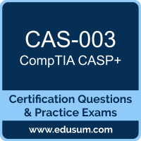 CAS-003: CompTIA Advanced Security Practitioner (CASP Plus)