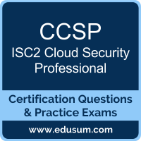 CCSP: ISC2 Cloud Security Professional