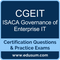 CGEIT: ISACA Governance of Enterprise IT