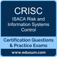 CRISC: ISACA Risk and Information Systems Control