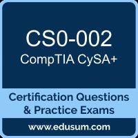 CS0-002: CompTIA Cybersecurity Analyst (CySA Plus)