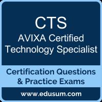 CTS: AVIXA Certified Technology Specialist