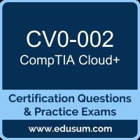 CV0-002: CompTIA Cloud+ (Cloud Plus)