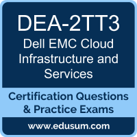 DEA-2TT3: Dell EMC Cloud Infrastructure and Services (DECA-CIS)