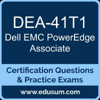 DEA-41T1: Dell EMC PowerEdge Associate (DCA-PowerEdge)