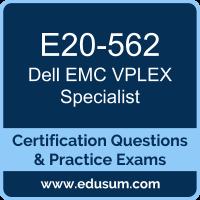 E20-562: Dell EMC VPLEX Specialist for Systems Administrator (DECS-SA)