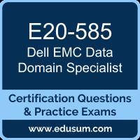 E20-585: Dell EMC Data Domain Specialist for Systems Administrator (DECS-SA)