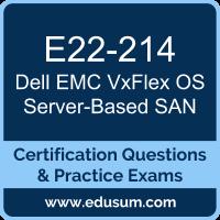 E22-214: Dell EMC VxFlex OS 2.x Server-Based SAN (DEC)