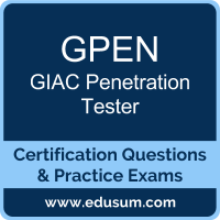 GPEN: GIAC Penetration Tester