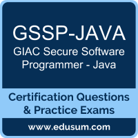 GSSP-JAVA: GIAC Secure Software Programmer - Java
