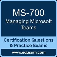 MS-700: Managing Microsoft Teams