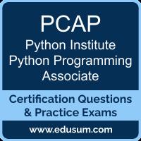 PCAP: Python Institute Certified Associate in Python Programming (PCAP-31-03)
