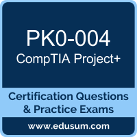 PK0-004: CompTIA Project+ (Project Plus)