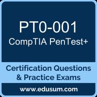 PT0-001: CompTIA PenTest+ (PenTest Plus)