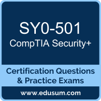 SY0-501: CompTIA Security+ (Security Plus)
