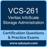 VCS-261: Administration of Veritas InfoScale Storage 7.3 for UNIX/Linux
