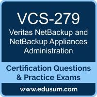 VCS-279: Administration of Veritas NetBackup 8.1.2 and NetBackup Appliances 3.1.