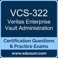 VCS-322: Administration of Veritas Enterprise Vault 12.x