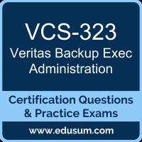 VCS-323: Administration of Veritas Backup Exec 16 (Backup Exec Administration)